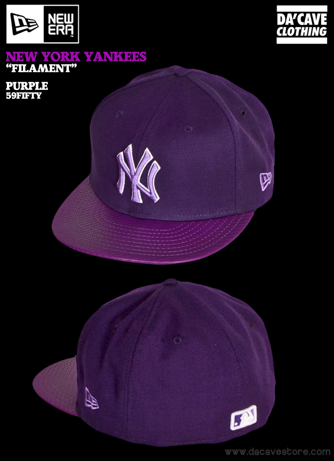 All Purple New York Yankees New Era Cap  d264ced8037