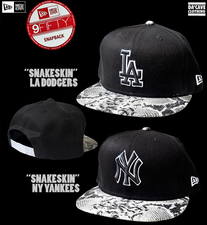 New Era 9fifty Snake skin Snapbacks 3dbadbe293a