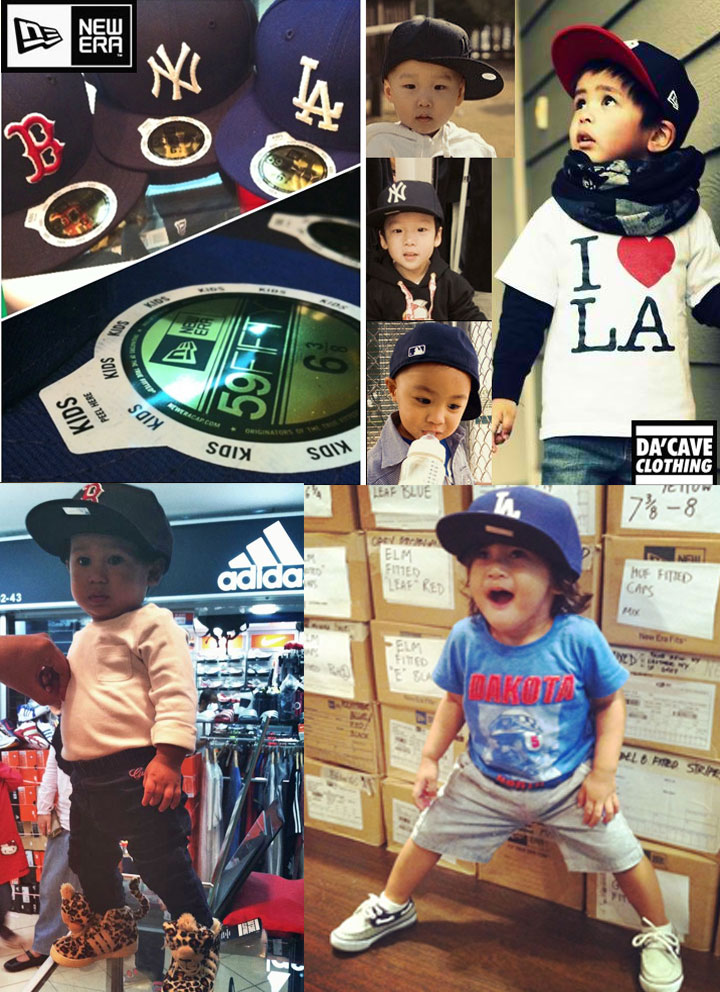 New Era fitted caps for kids at Dacave store Singapore  b8721d752aa