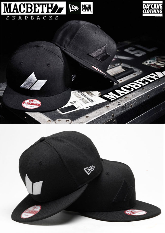 3a3c3f09e Macbeth brand 9Fifty New Era snapbacks now in store | Da'Cave Store ...