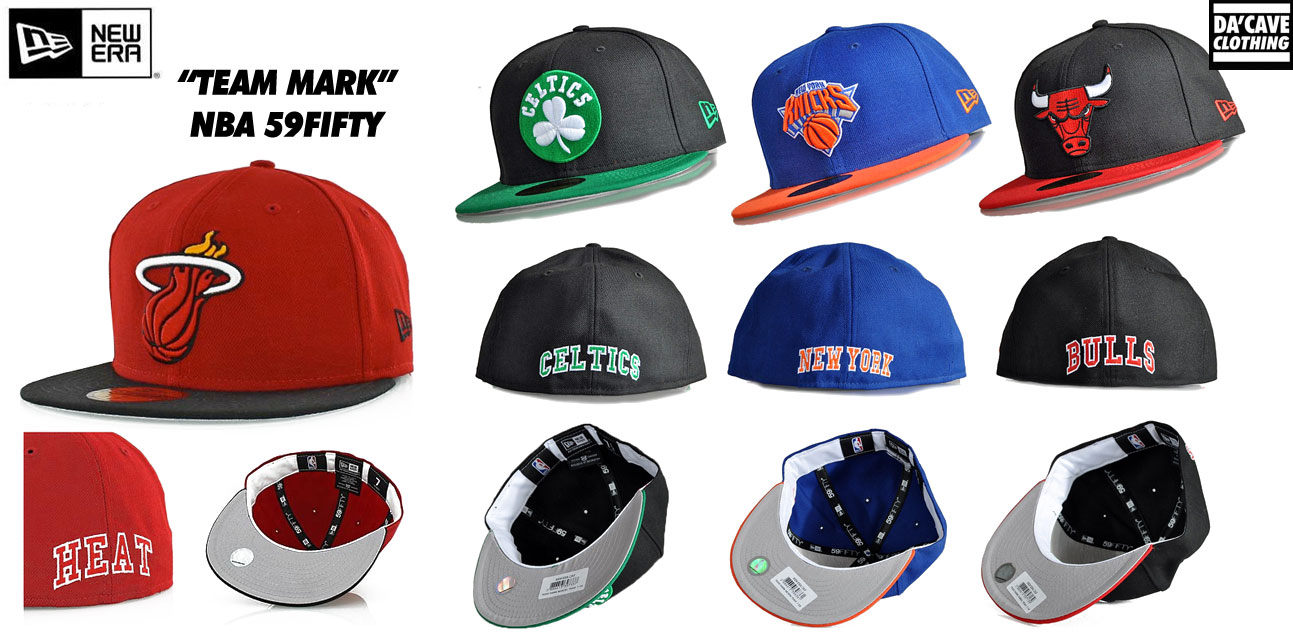 New Era NBA 59fifty hats  26ed1f110e4