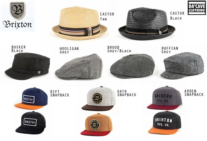 Brixton brand hats now available  b23b44711e7