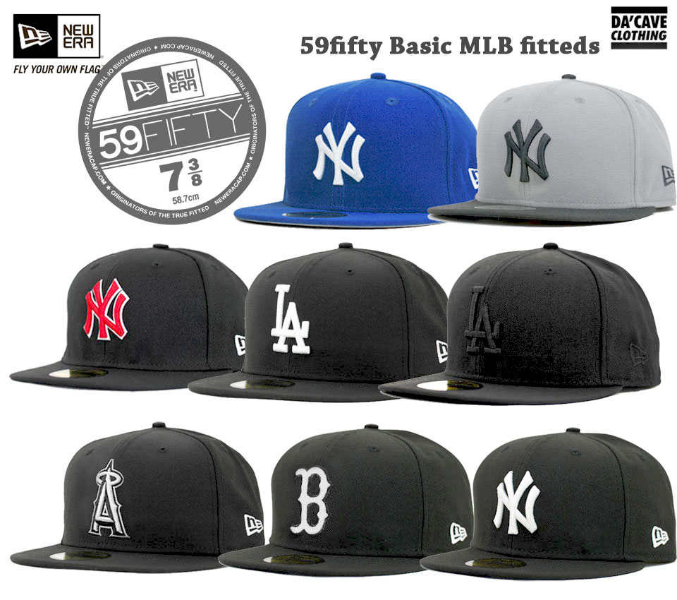 New Era 59fifty Basic MLB caps  9c665e25b99