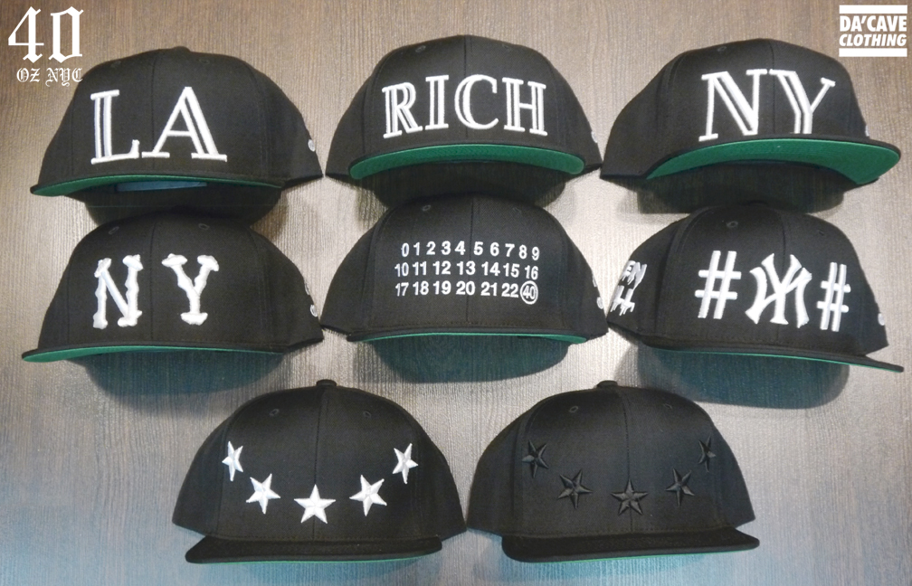 336c97dd8ad 40oz NYC Snapbacks available now at DaCave store