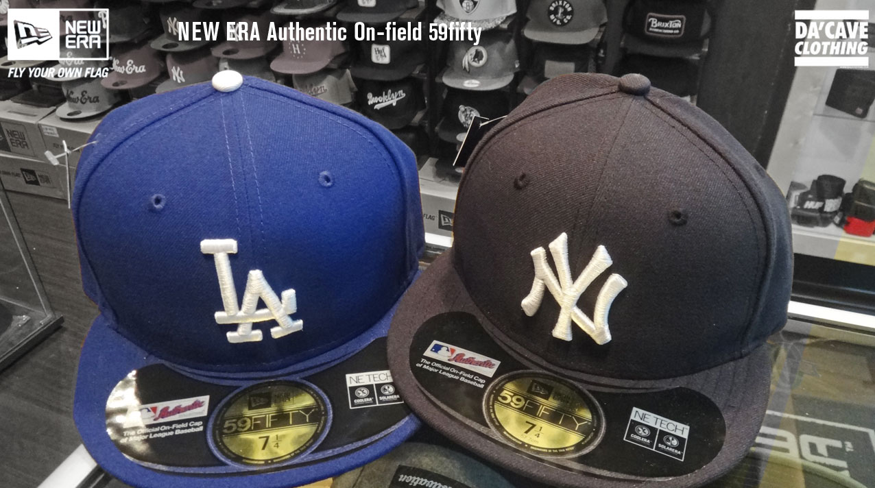 c3eede84f88a1c New Era's Authentic On-field Collection hats | Da'Cave Store Singapore