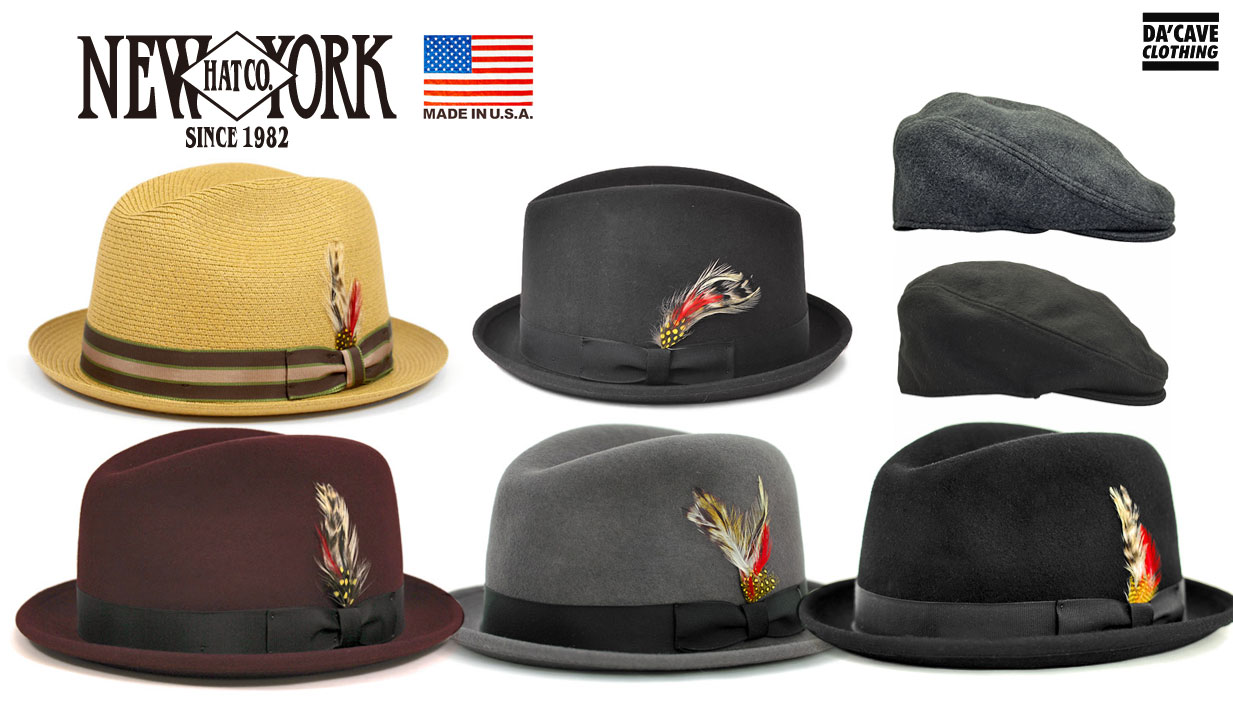 New York Hat Co. Fedoras and Ivy caps  d97f5c4df38c