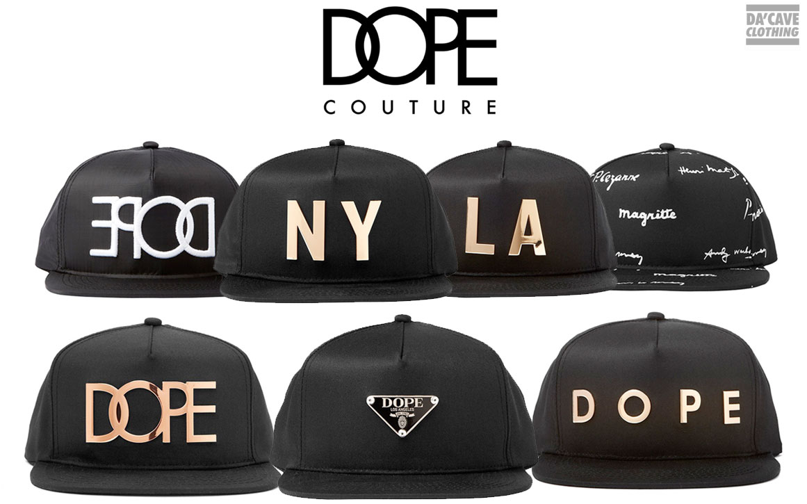 Whats New  24K DOPE Collection hats now at Dacave  ee0688611bd