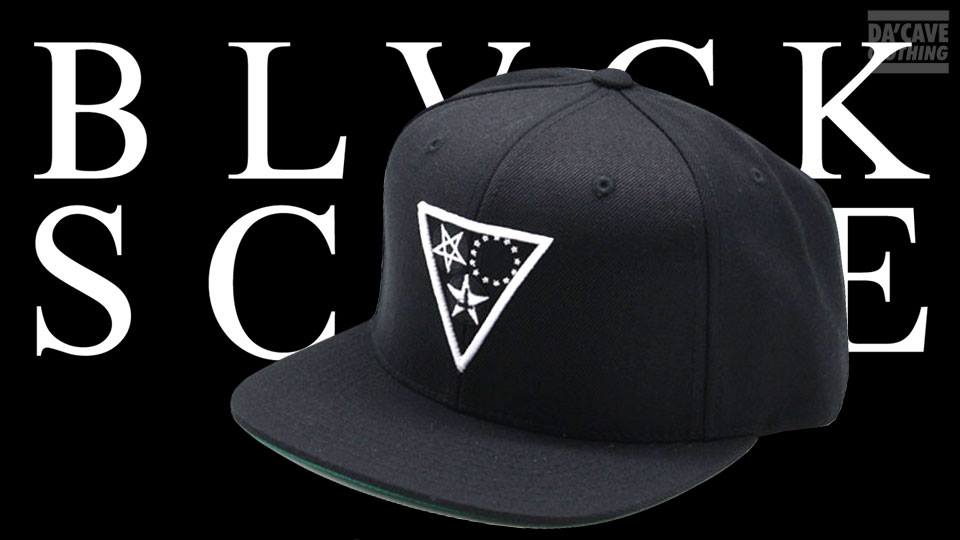 black scale snapback dacave
