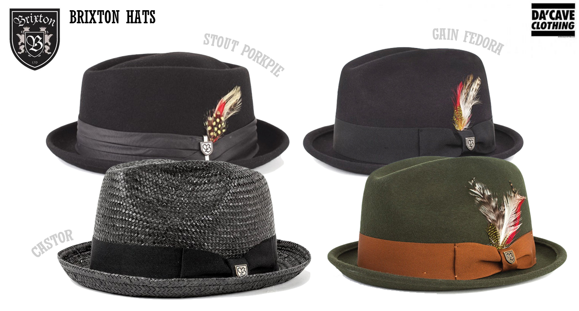 New Pork Pie hat and Brixton Gain Fedoras in store now  fbc7021f6c1