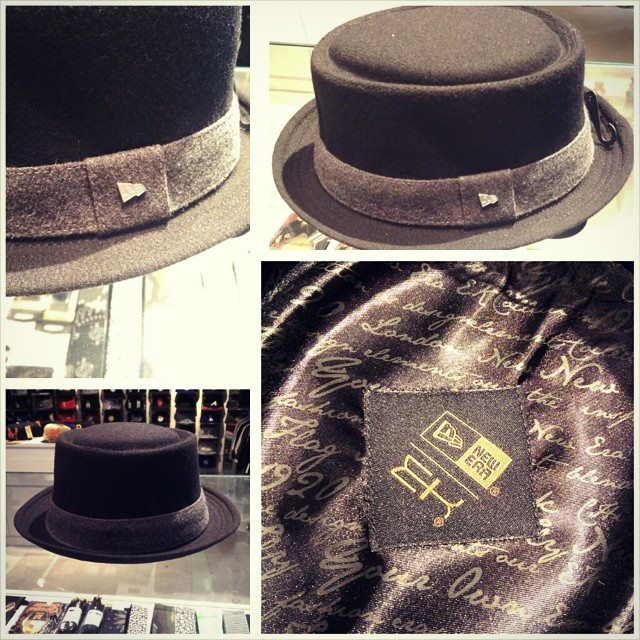 2b83f76967 New Pork Pie hat and Brixton Gain Fedoras in store now   Da'Cave ...