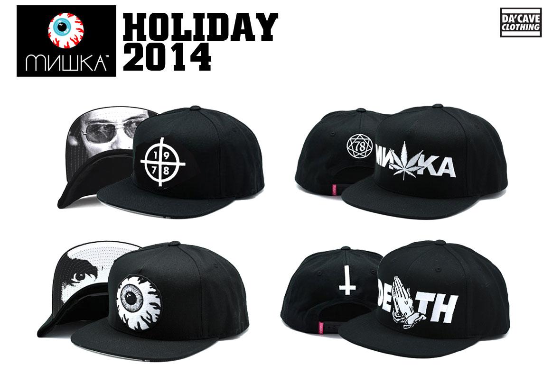6d48d4da6e4 mishka-longsleeve-tee newera-bucket-hat-mishka mishka-holiday-2014-hats