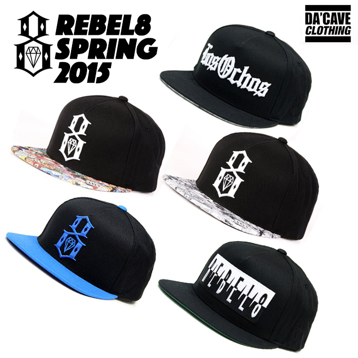 a0be61b9eaf5f real rebel8 standard issue logo snapback 8662f 0773a  top quality rebel8  2015 spring snapbacks 46596 4303e