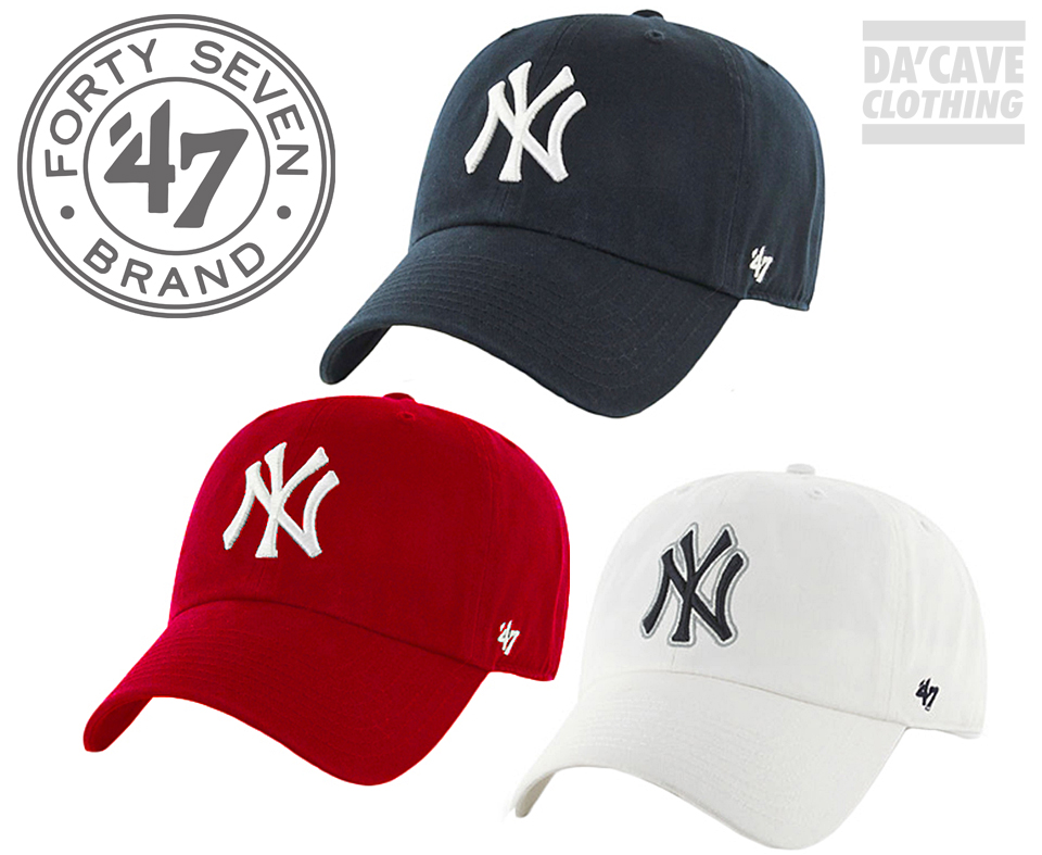 Pre curved Baseball caps by 47 Brand USA | Da'Cave Store