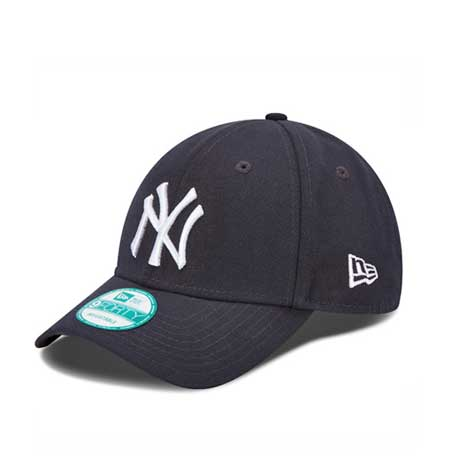 c1f1f6b1c43 New Era NY Yankees Official Team Navy 9Forty Cap