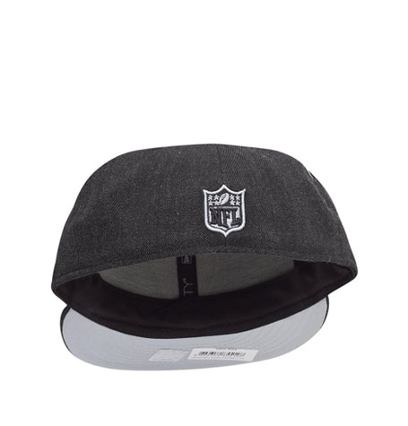 New Era 59Fifty Cap - HEATHER Dark Grey Oakland Raiders  9059a98b9