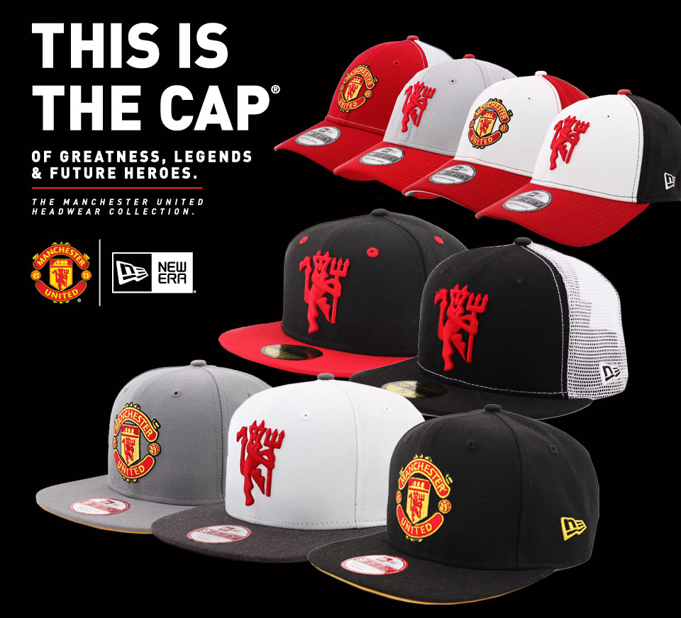 998fabdde1a16b Manchester United New Era hats in Singapore | Da'Cave Store Singapore