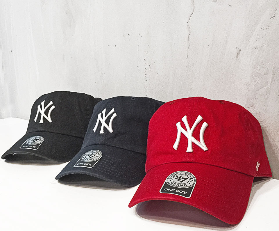 new york yankees 47 brand classic baseball cap curved brim. Black Bedroom Furniture Sets. Home Design Ideas