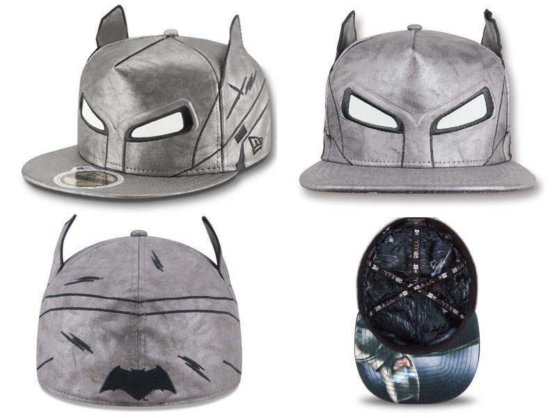 5e191edce04 ... Fitted Hat Collection by New Era - Batman-v-Superman-Dawn-of-Justice- Character-Armor-