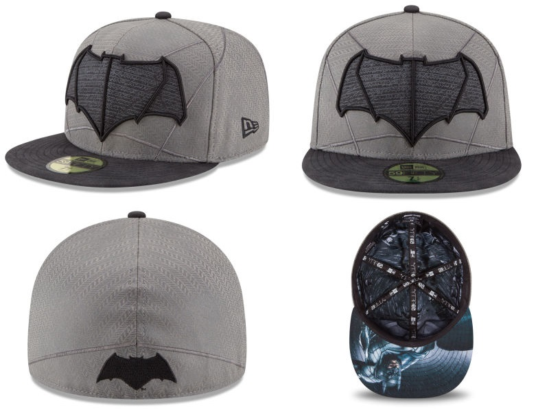 Batman v Superman Dawn of Justice Character Armor 59Fifty Fitted Hat Collection by New Era - Batman