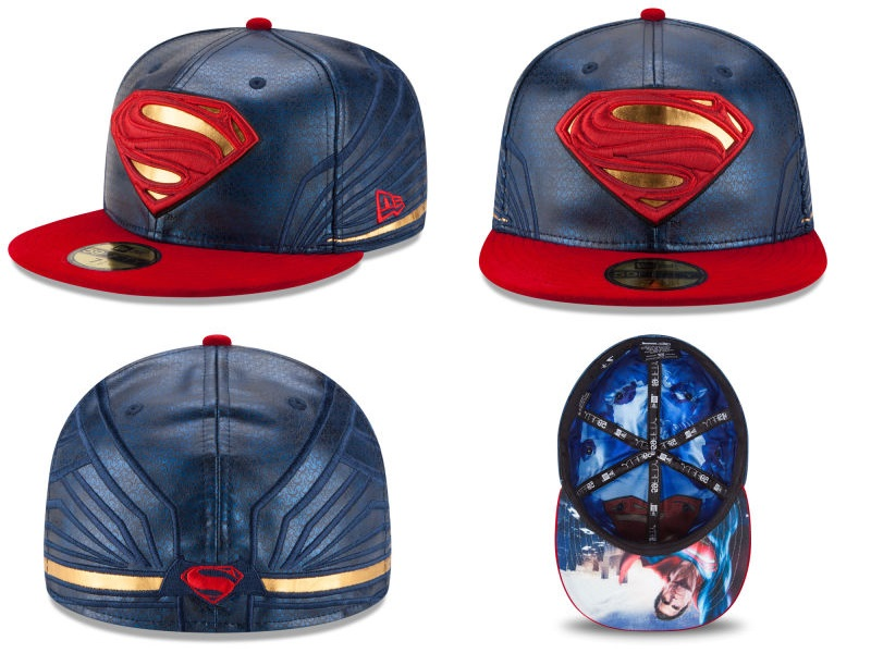 ... Batman v Superman Dawn of Justice Character Armor 59Fifty Fitted Hat  Collection by New Era ... f4d93ffb8bd2