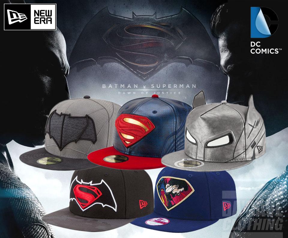 dc comics x new era batman vs superman official movie cap