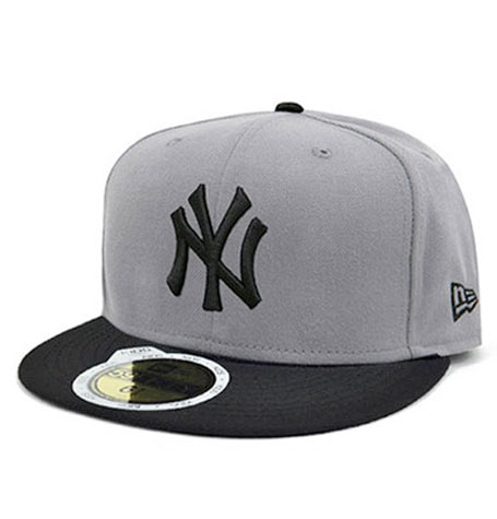 New Era NY Yankees Storm Grey 59FIFTY Youth Fitted Cap  d6d2ce6fb97