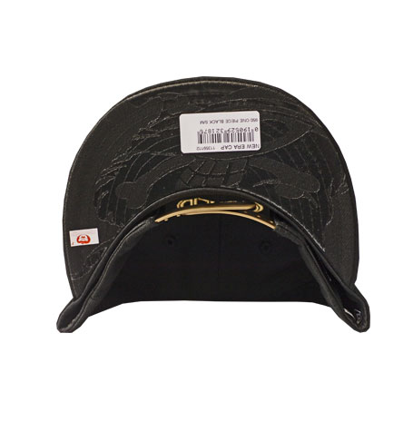 cheaper 4fdb7 26d62 ... real one piece film new era x gold logo black 9fifty snapback dacave  2350f 630e2