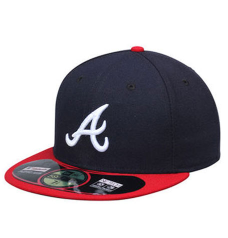 caff881ebdca2a New Era Atlanta Braves Authentic On-Field 59FIFTY Cap | Da'Cave ...