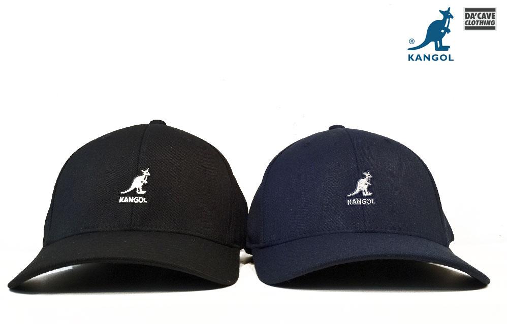 050816c4 Kangol logo Flexfit Baseball caps | Da'Cave Store Singapore