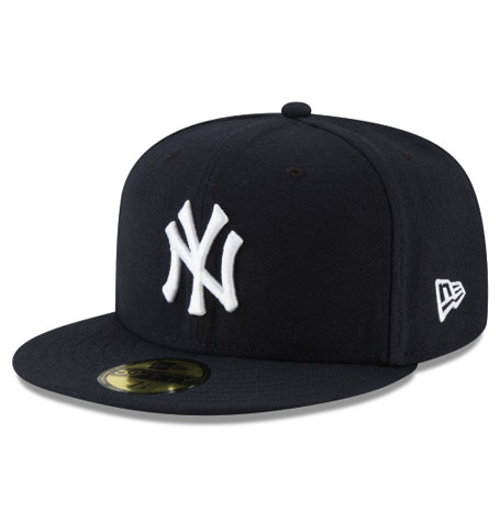 50cf84421aac6 New York Yankees New Era 59Fifty Basic Black Fitted Hat