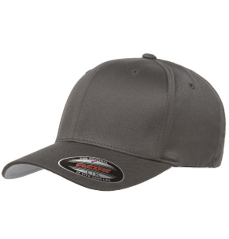 Yupoong Flexfit Wooly Combed Cap in Dark Grey 7a6f5b8d48be