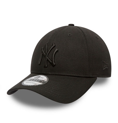 New Era NY Yankees Black on Black 9Forty Cap  ab8a40bb50a1