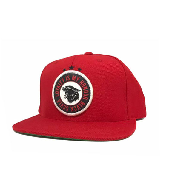 901505aef1a Black Scale Havoc Snapback Red