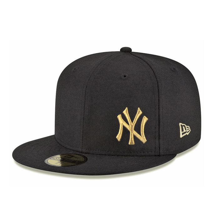 New Era LA Dodgers Flawless Black Gold 59fifty Fitted Cap.  69.00. Out of  stock. New York Yankees 58ab1fc5975d