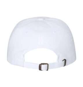 yupoong-White-dad-hat-back