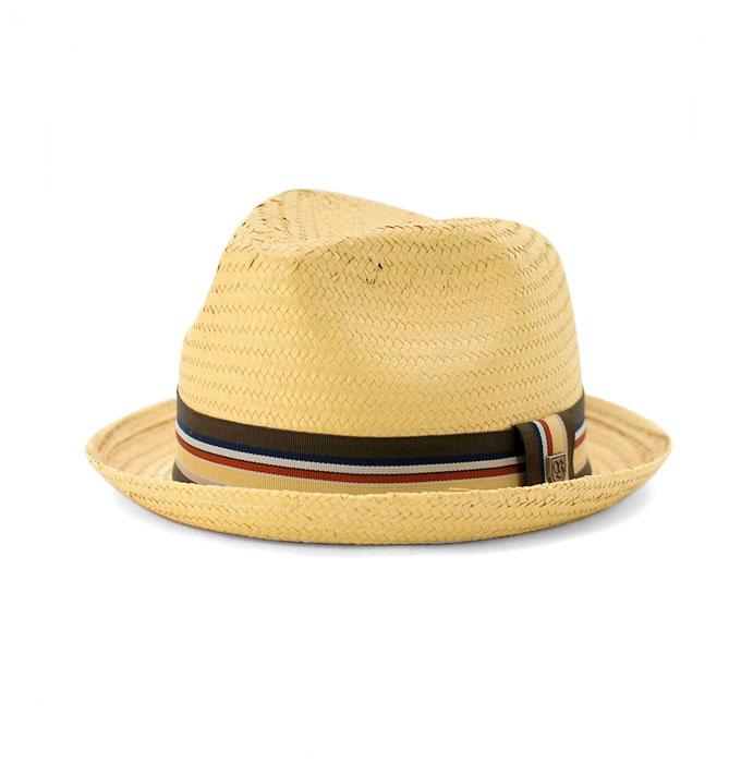 88db64c84e9b8 Brixton Castor Tan Straw Hat
