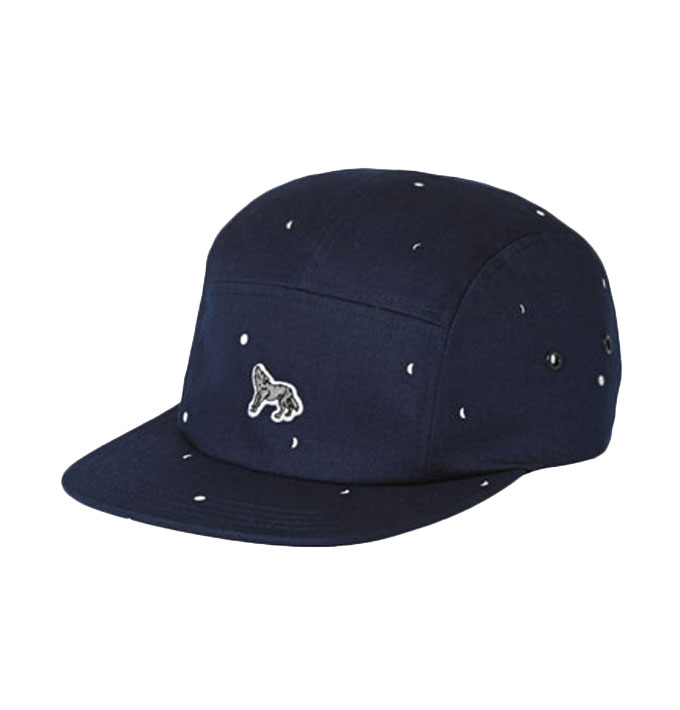 089bed7793e Undefeated 5 Strikes Snapback Cap in Navy