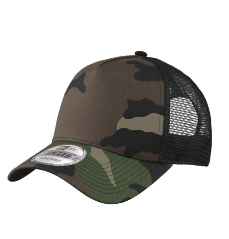 New Era 9forty Blank Camo Trucker curved brim adjustable cap  f3c19f7907b