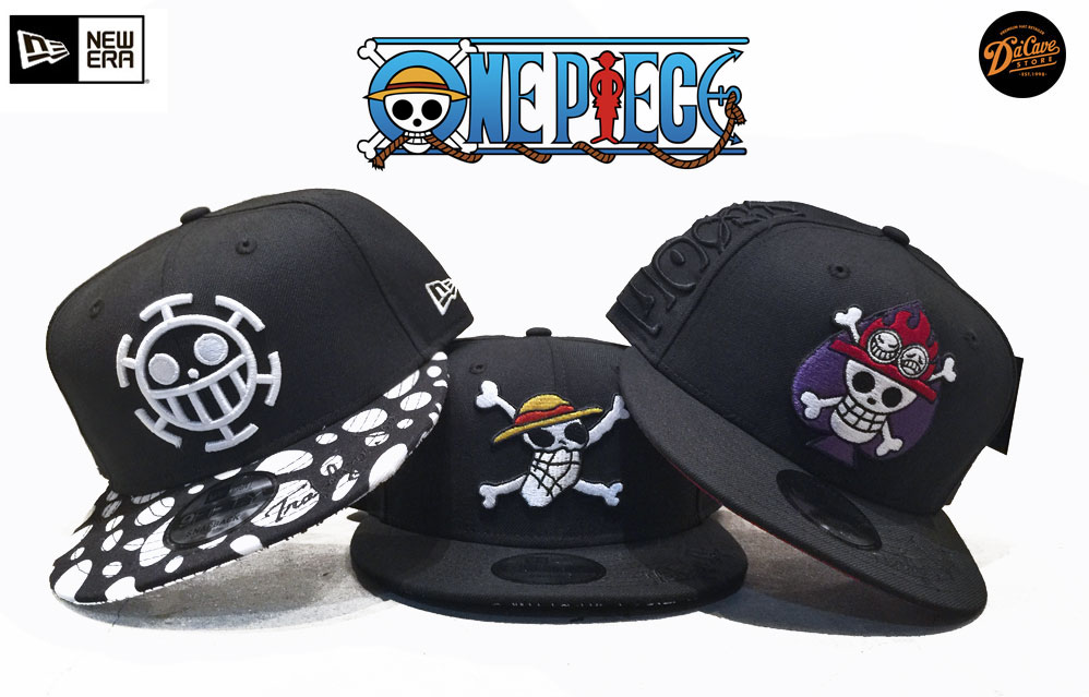 dfa5c866687 One Piece Caps by New Era   Spring Summer 2017