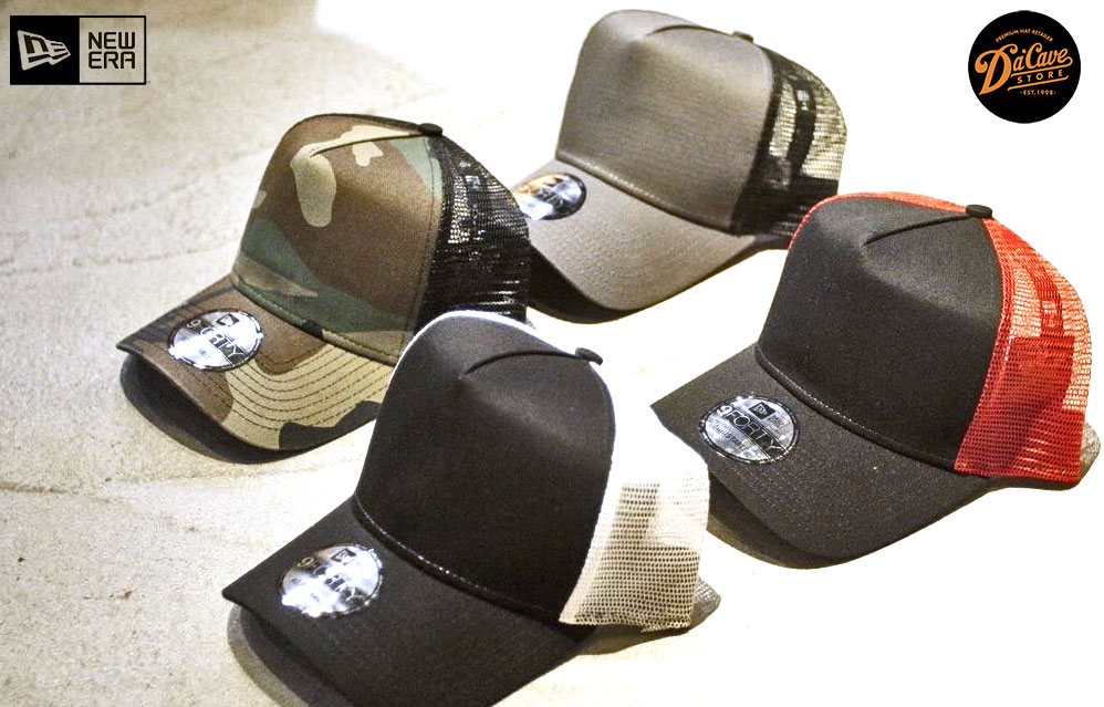 9forty D-frame Trucker Mesh caps by New Era Cap Co.  202620a1580
