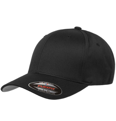 86503d38c Yupoong Flexfit Wooly Combed Cap in Black | Da'Cave Store Singapore