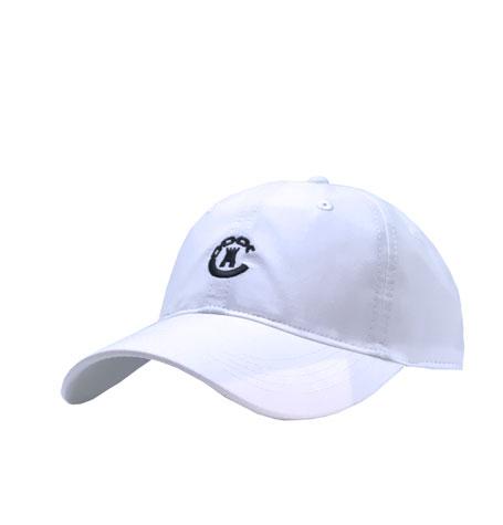 11df85b6 Crooks & Castles Chain C Dad Hat in White   Da'Cave Store Singapore