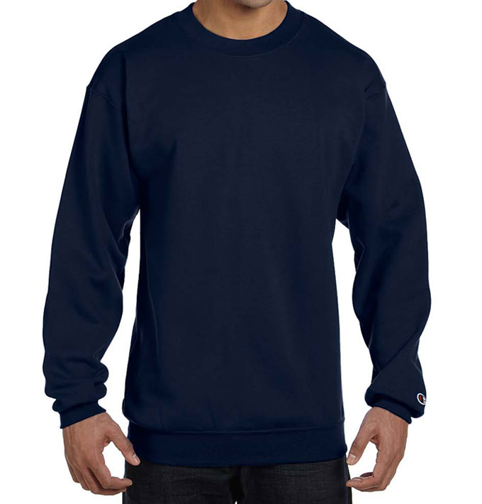 43a859028613 Champion USA 9 oz Double Dry Eco® Crewneck Sweater