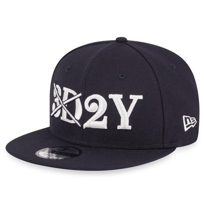 908768b1979c8 New Era 9Fifty NEC NYC Rubber Duck Navy Canvas D-Frame Snapback.  65.00.  Out of stock