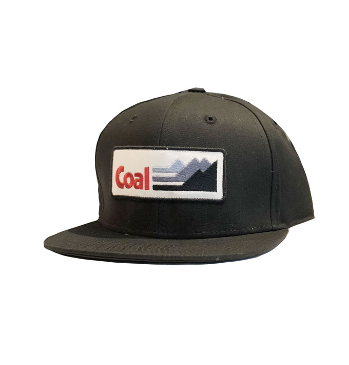 352b42af0a1 Coal The Interstate Snapback Black