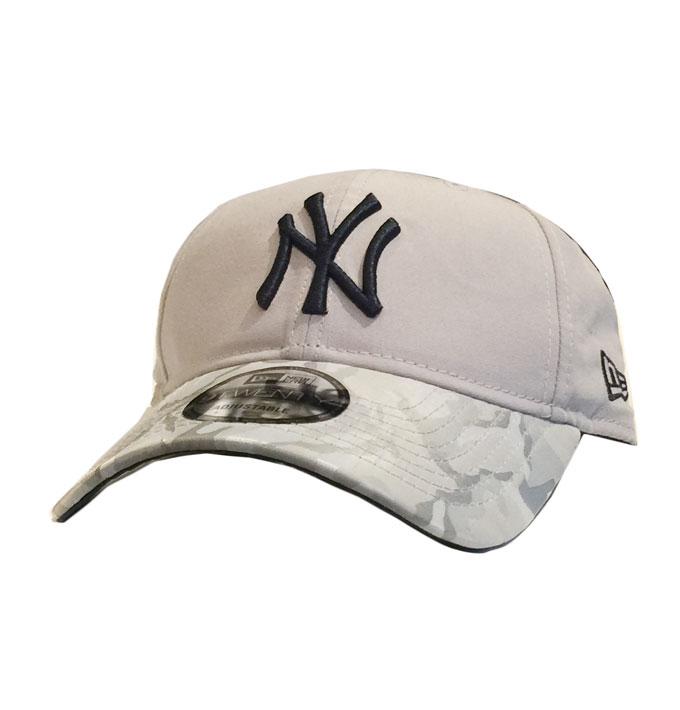 New Era 9Twenty NY Yankees Grey with Camo Brim 1aa563b3381b