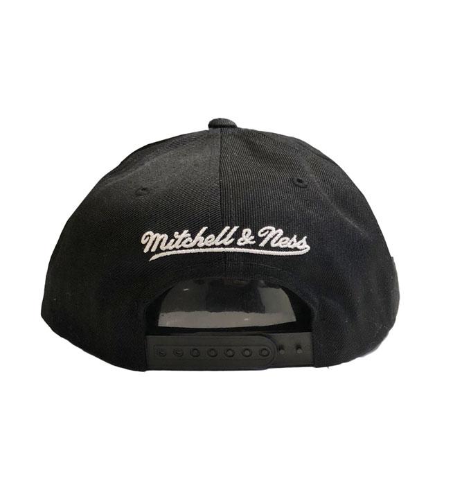 save off b6dcc 481fd Mitchell n Ness Black/Grey LA Kings Snapback