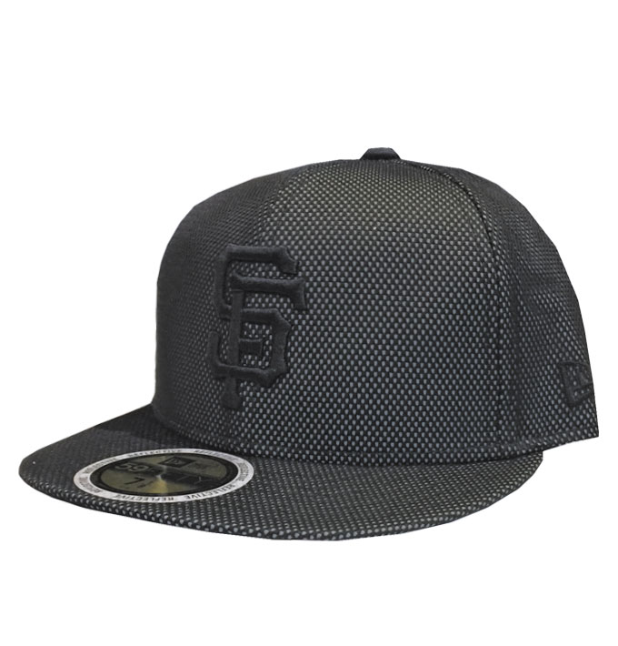 65b12e4c New Era SF Francisco 3M Reflective 59fifty Black Fitted Cap | Da ...