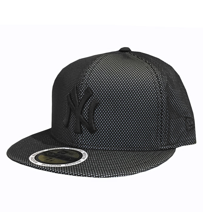 0ccefd32 New Era NY Yankees 3M Reflective 59fifty Black Fitted Cap | Da'Cave ...