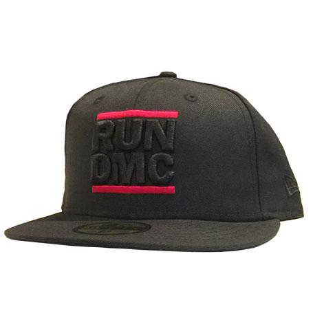 f60fcc02362dbd New Era RUN DMC 59fifty Black on Black Fitted Cap | Da'Cave Store ...